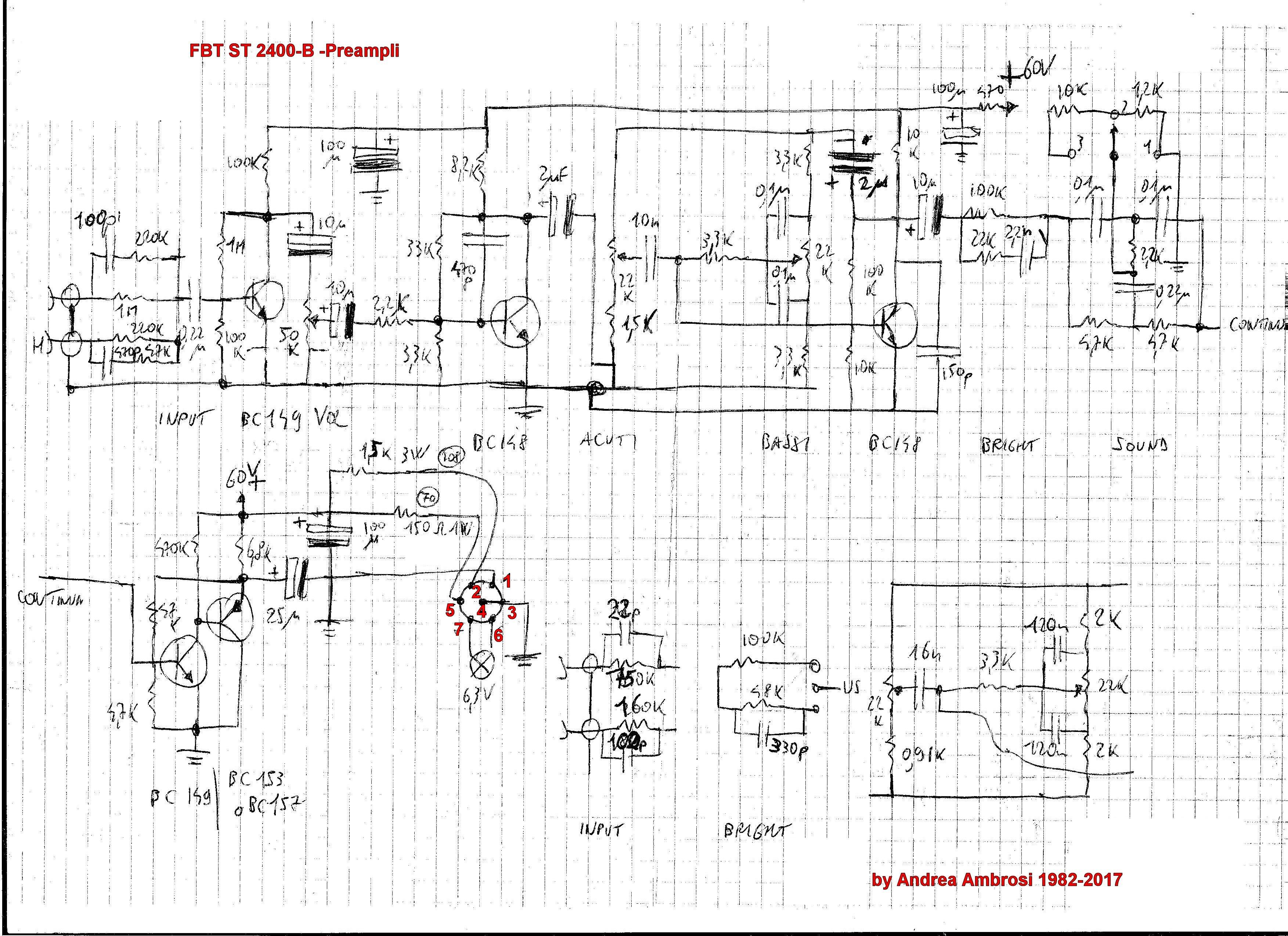 Schema Elettrico Amplificatore Per Basso : Accordo schema fbt st b per luke