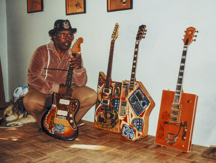 Una Teisco per Bo Diddley.