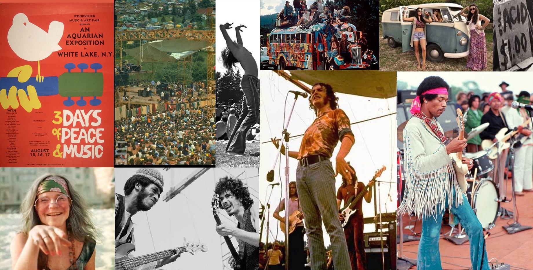 """""""Woodstock 1969, sono passati 50 anni """""""