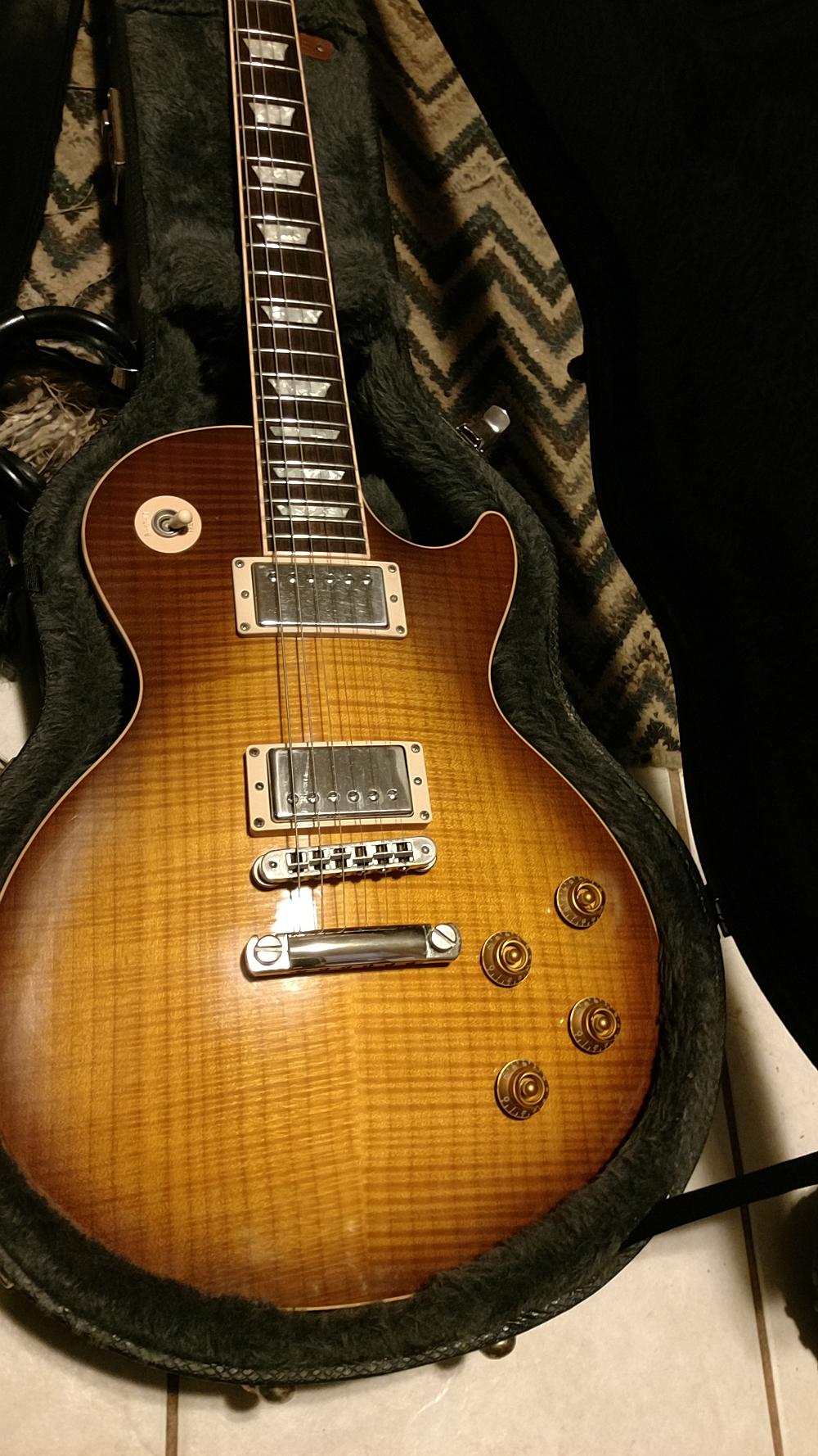 Top di una Gibson Les Paul Standard 2006