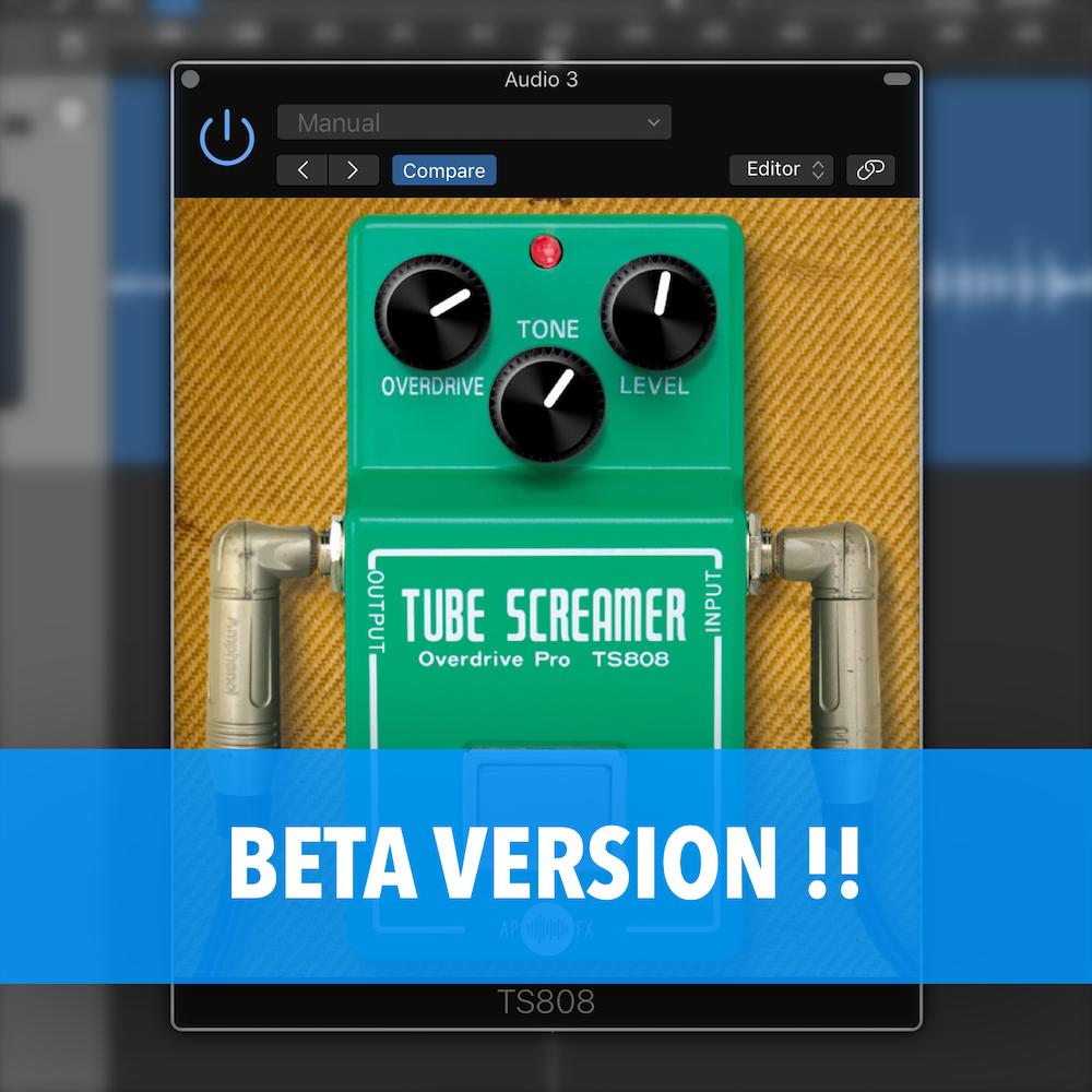 APFX - TS808 Beta pubblica!