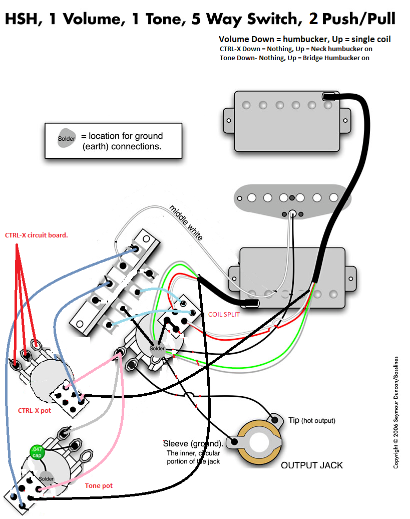 Accordo Stratocaster Super Switch Wiring