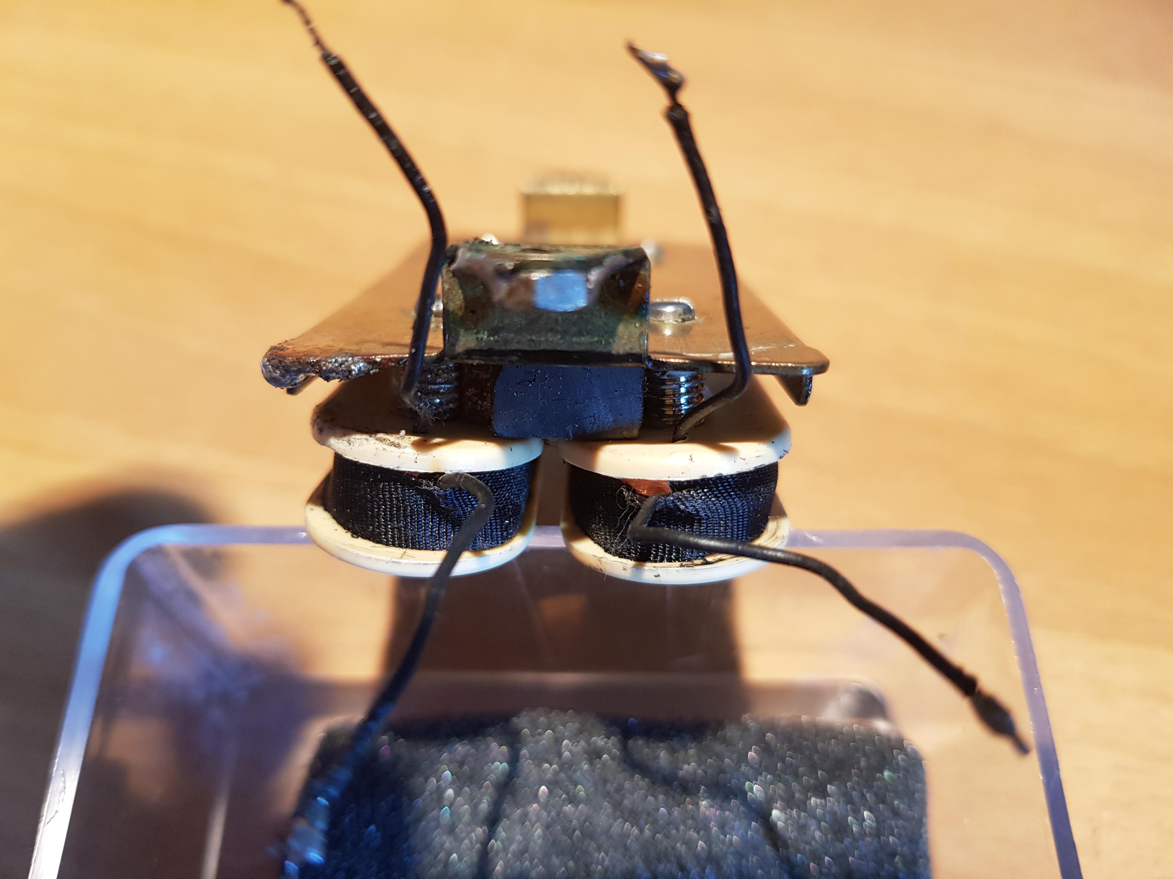 wiring Di Marzio Super Distortion