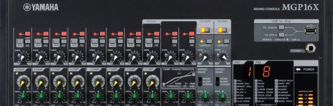 MM 2012 - Yamaha MGP Mixer