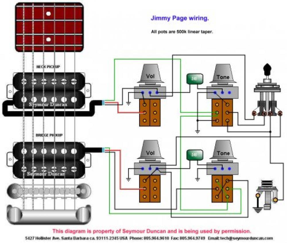 accordo humbucker a metà esempio di wiring con humbucker a 4 conduttori
