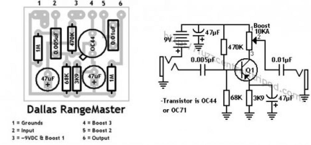 Schema Elettrico Booster Spirit : Schema elettrico fuzz face fare di una mosca
