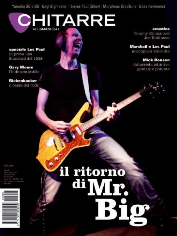 Accordo editoriale chitarre marzo 2011 for Chitarre magazine