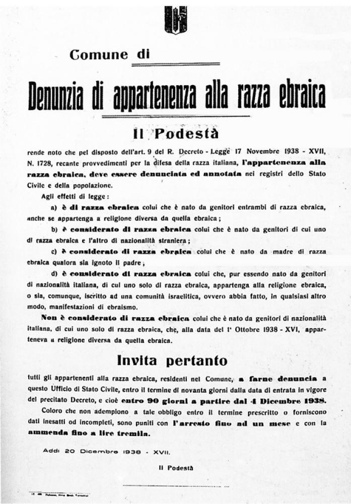 Accordo per non dimenticare for Chi fa le leggi in italia