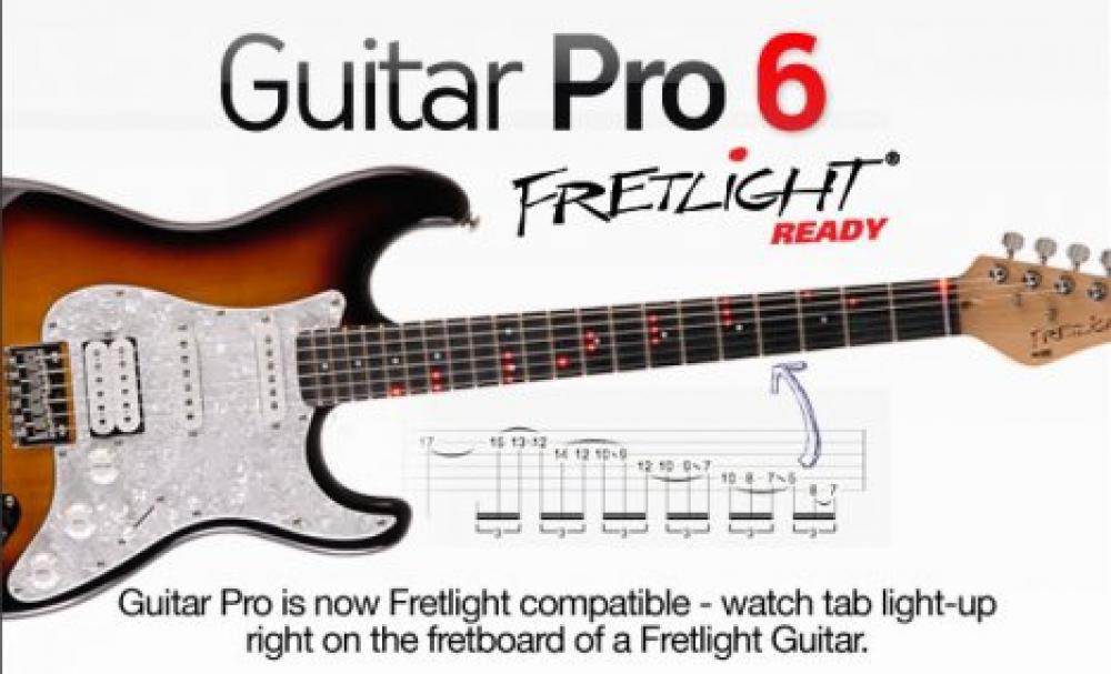 Guitar Pro - данная программа представляет собой нотный редактор, при помощ