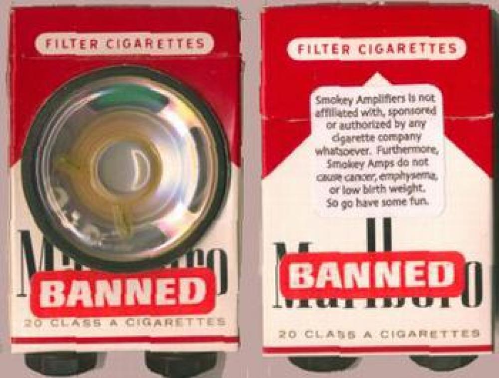 Smokey Amp, fumare non sempre fa male!