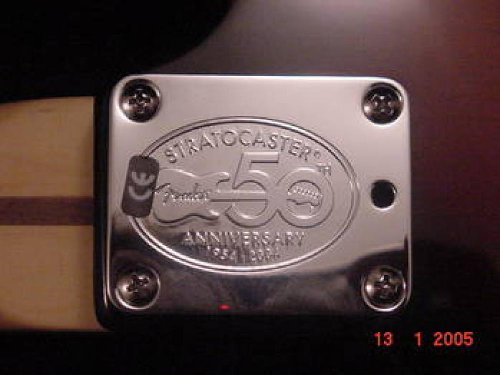 Fender falso 50° anniversario