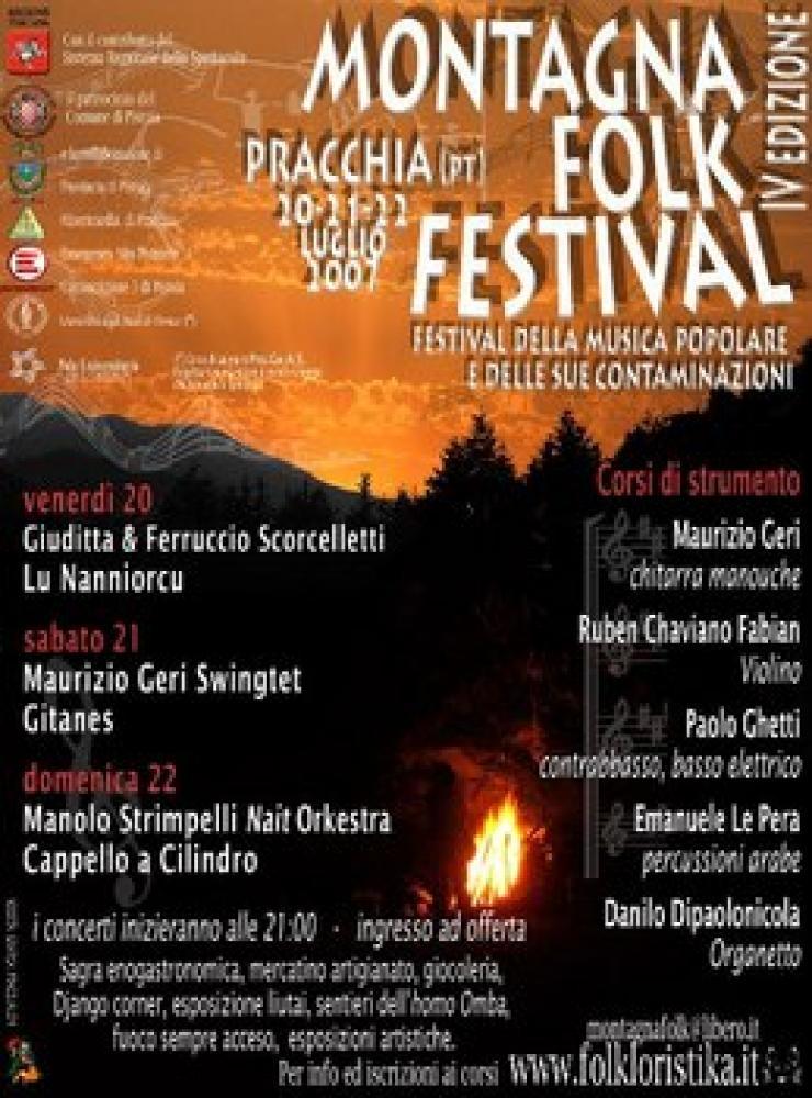 locandina festival Pracchia (PT)
