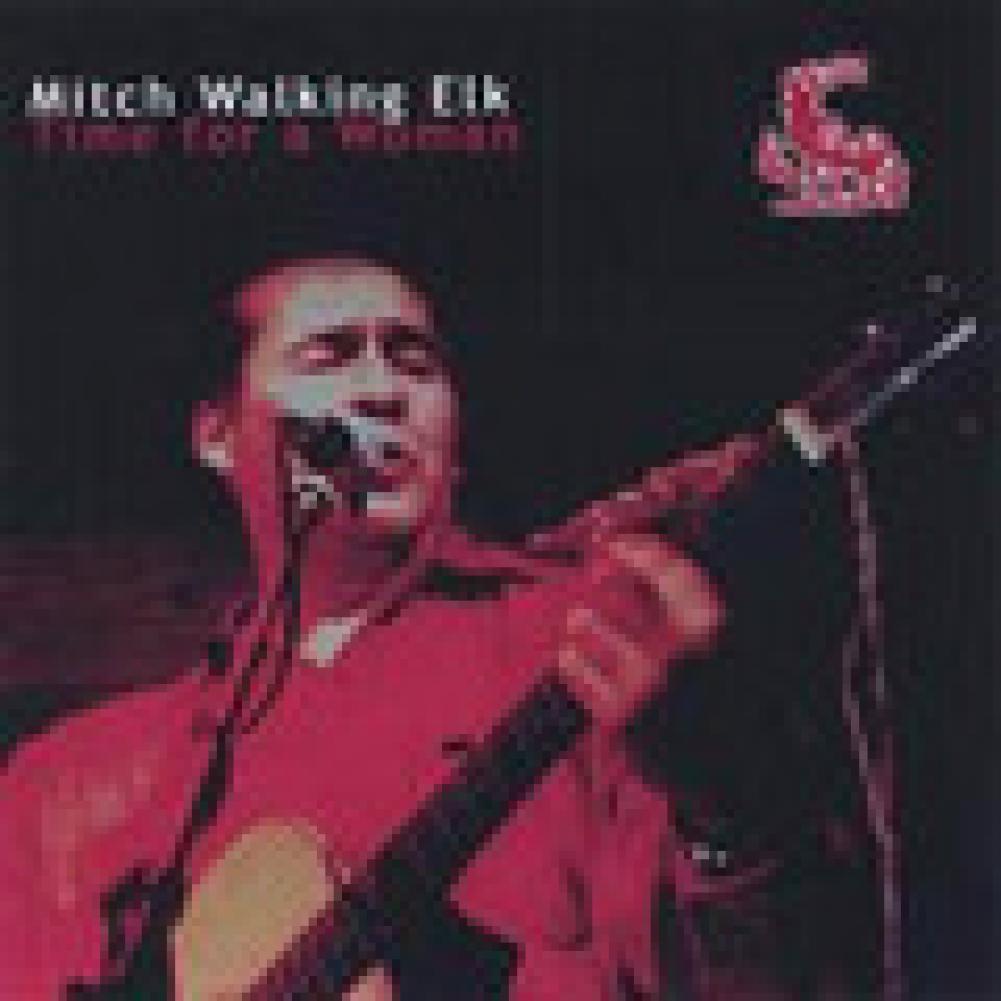 Mitch Walking Elk. Sangue Cheyenne, animo Blues
