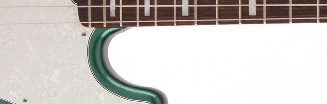 Fender Adam Clayton Jazz Bass: il basso degli U2