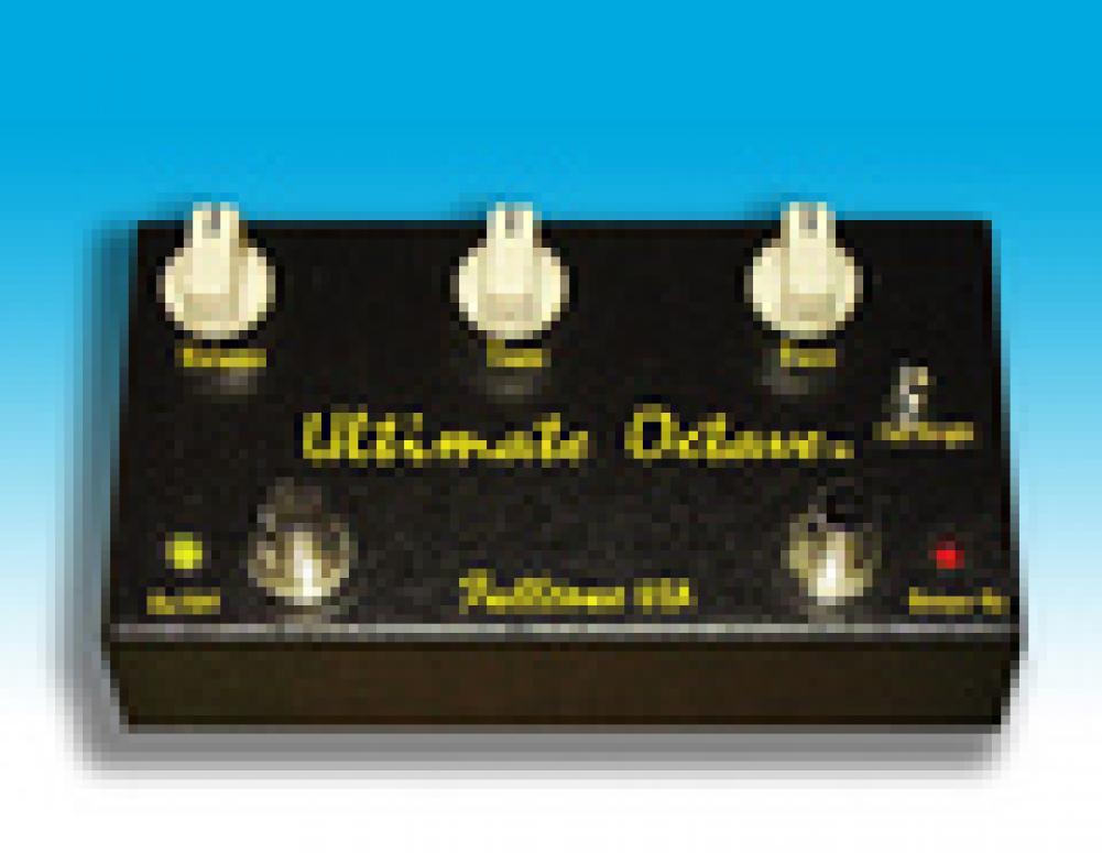 The Ultimate Octave by Fulltone. Effetti devastanti sotto i piedi.