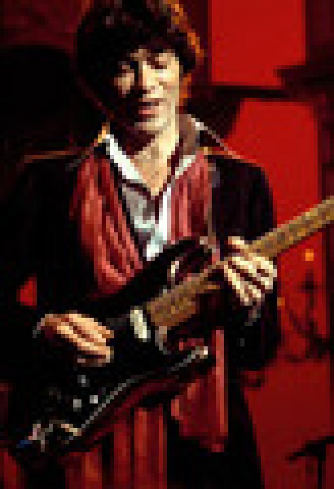 Le chitarre di Robbie Robertson.