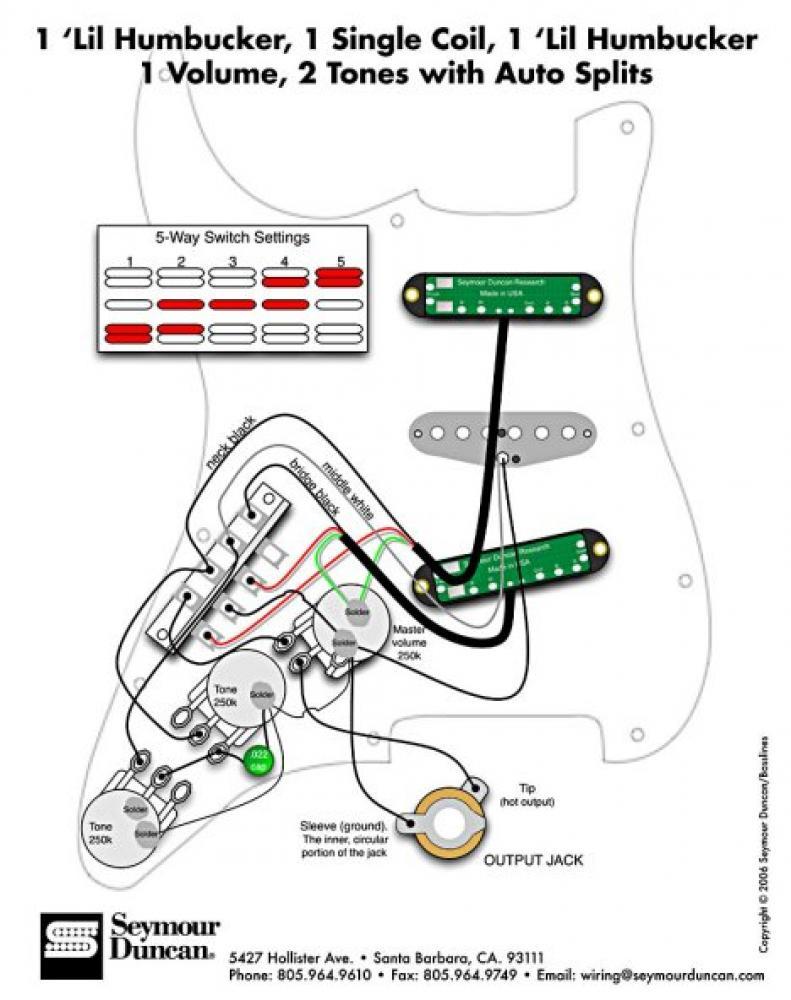 Schema Cablaggio Telecaster : Accordo wiring seymour duncan poco chiaro