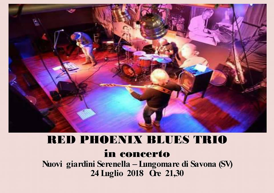 RED PHOENIX BLUES Trio
