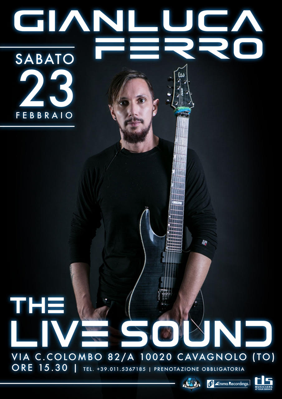 Clinic Gianluca Ferro presso The Live Sound (TO)