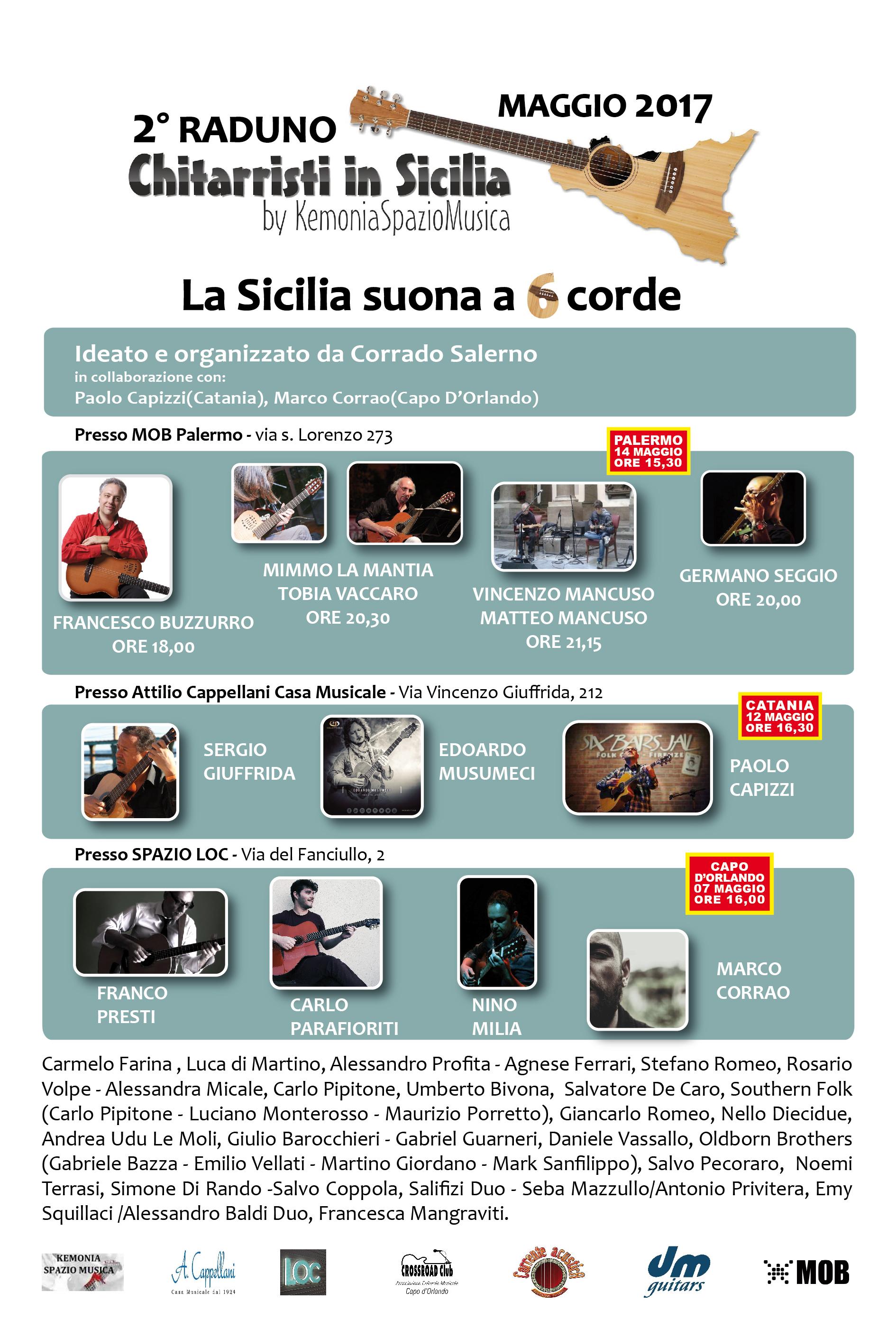"""2° Raduno Chitarristi in Sicilia by KemoniaSpazioMusica - """"La Sicilia suona a 6 Corde"""""""