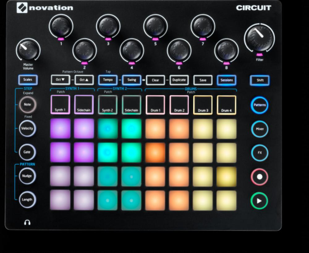 Primo grande aggiornamento software per Circuit da Novation