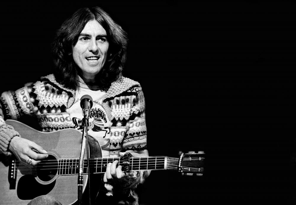 Un blues in acustico come George Harrison