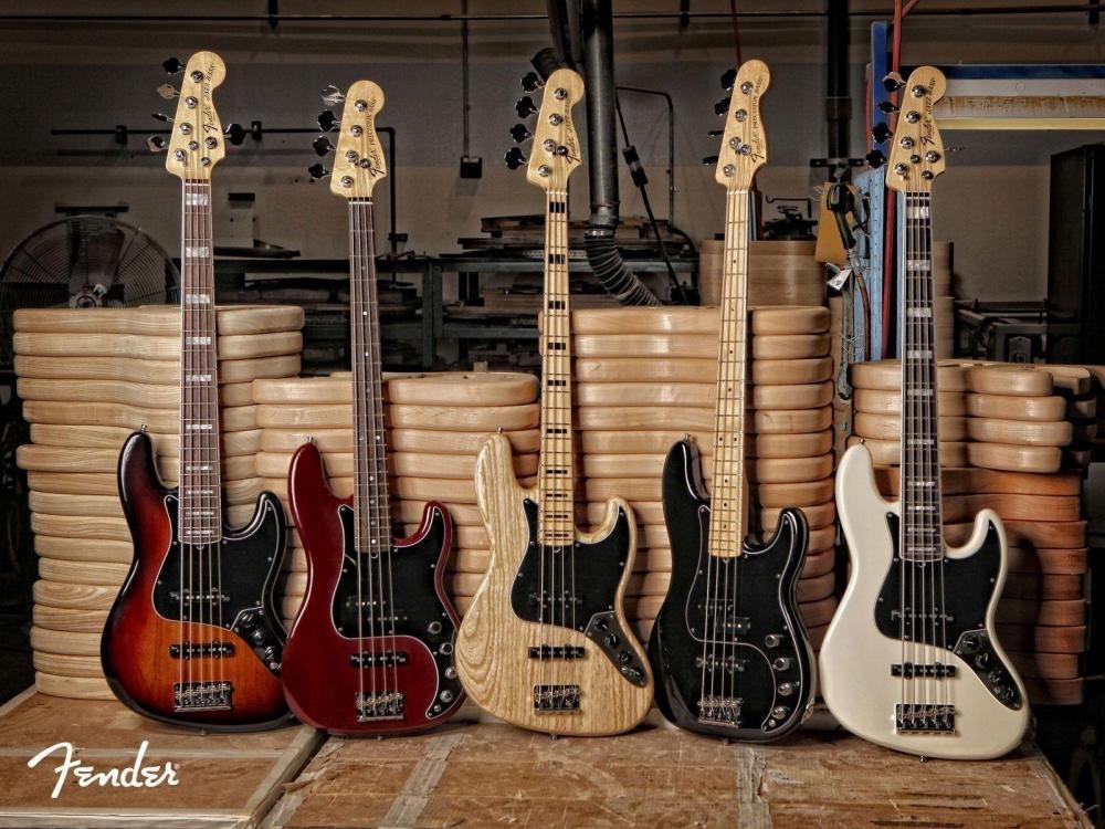 Il TBX di un Jazz Bass USA