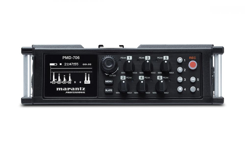 Marantz PMD 706: DSLR recording made easy