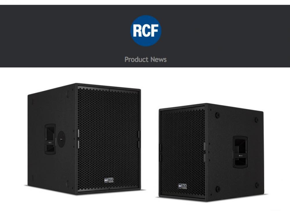 Novità RCF TTS 15-A e TTS 18-A II