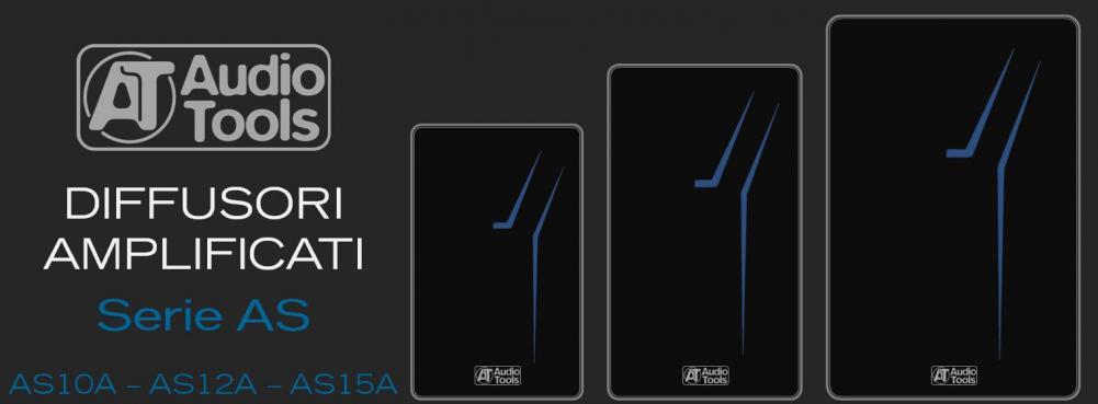 Nuovi diffusori della serie AS di Audio Tools