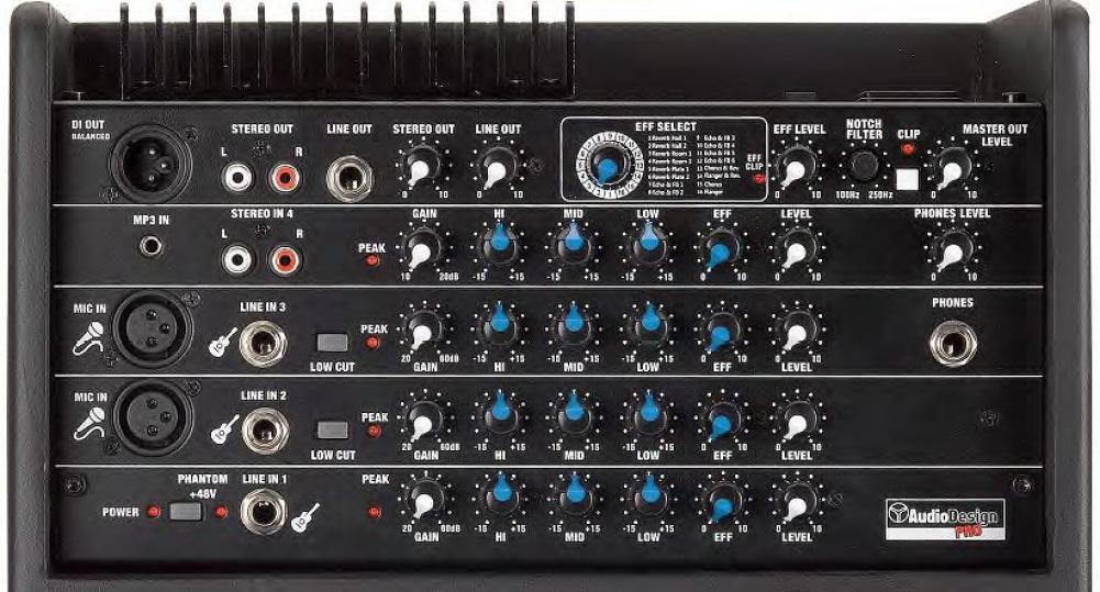 Audiodesign AG8 Impact: tutto in uno