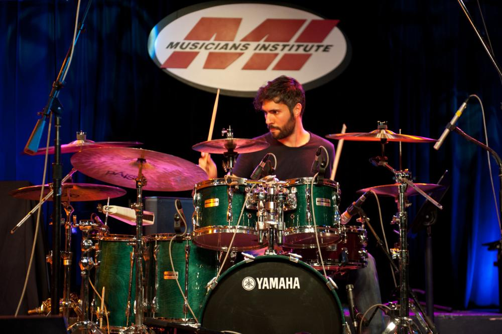 """The All Around Drummer"", clinic tour di Gianluca Palmieri"