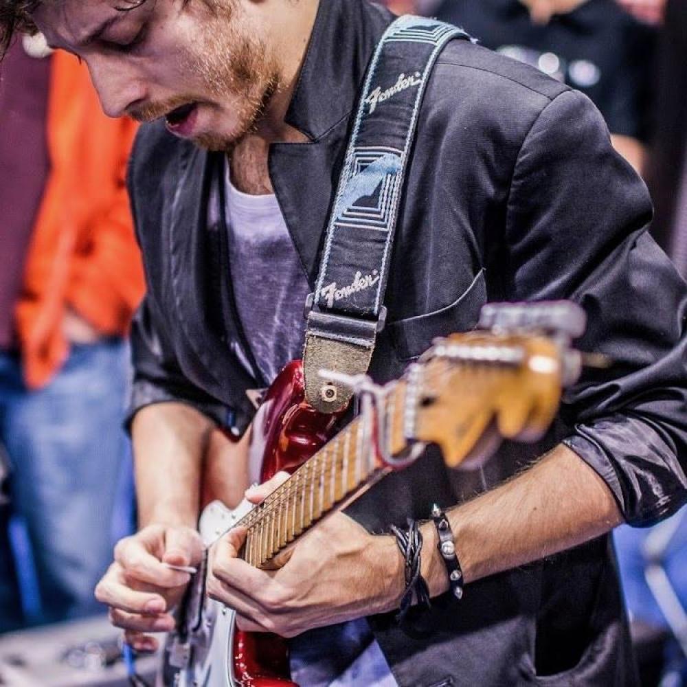 Daniele Gottardo suona le chitarre nel prossimo disco di Jason Becker
