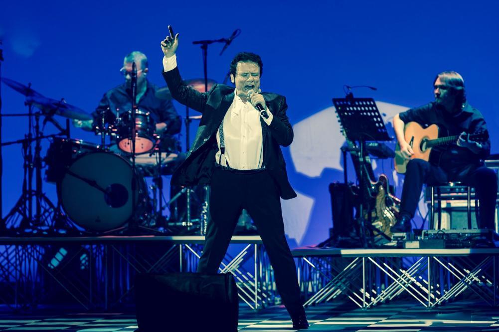Sul palco con Max Rosati