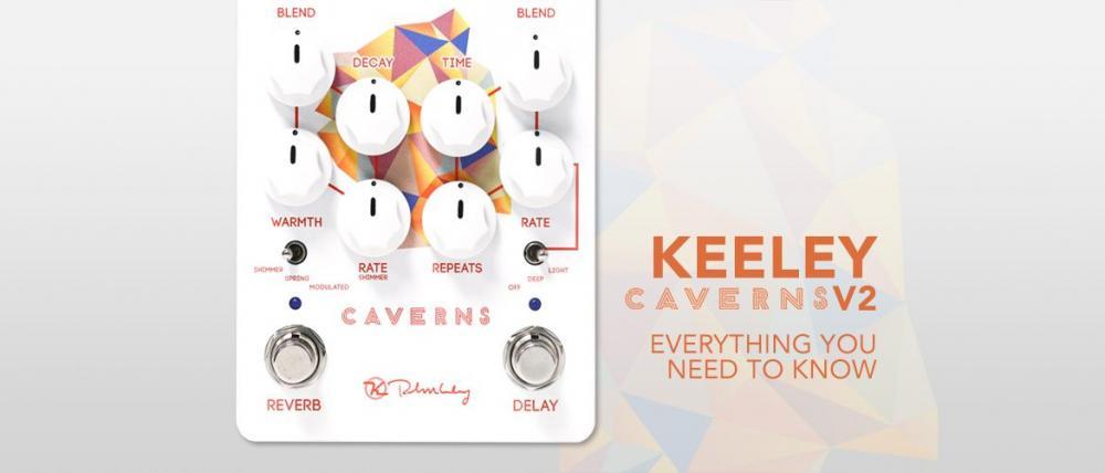 Caverns V2: due Keeley nello spazio di uno