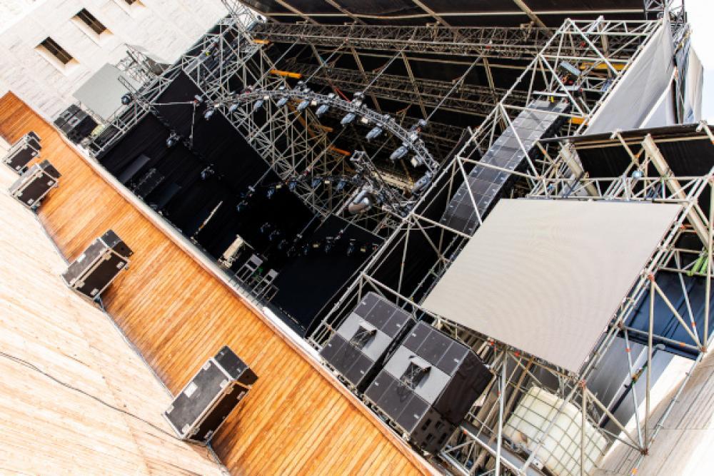 """VIO L212 è il PA scelto per sonorizzare """"OnDance"""" nella cornice di Arena Flegrea (Napoli)"""