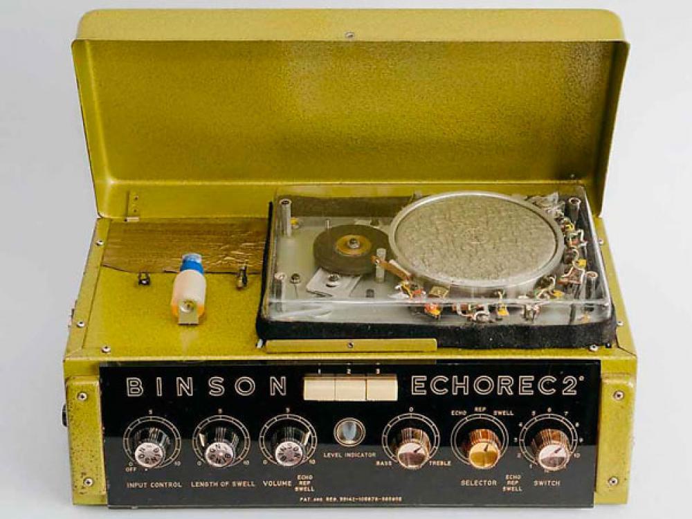 Binson Echorec: gli originali vintage