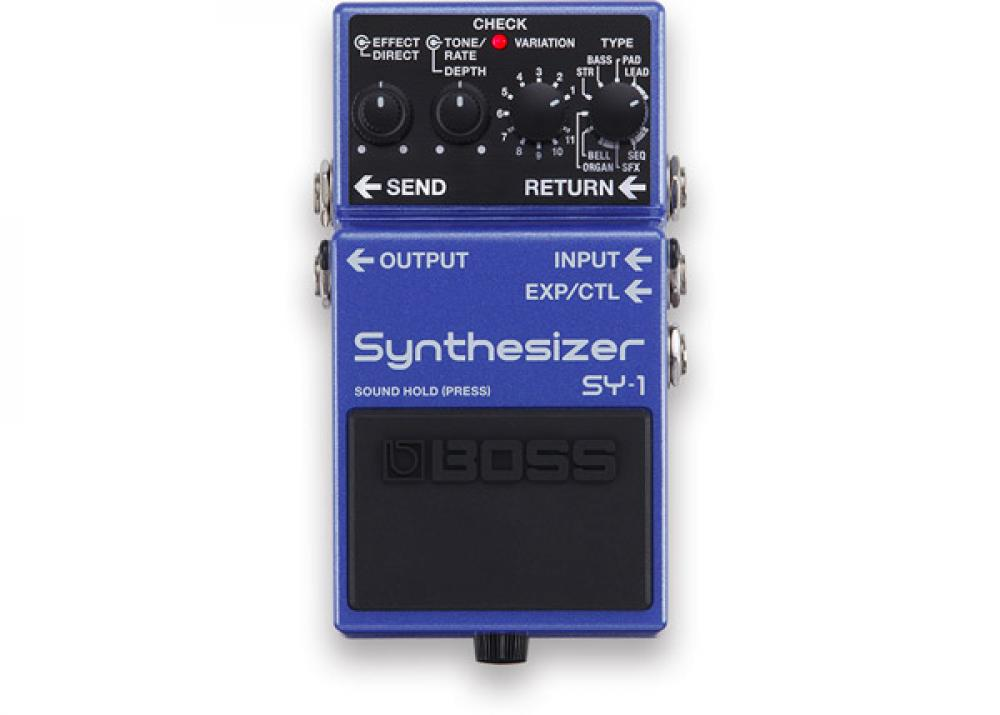 Boss SY-1: il synth polifonico si fa stompbox