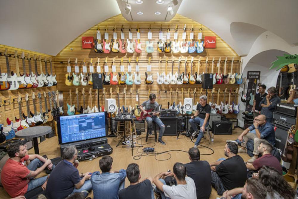 Suhr, home recording e Pete Thorn