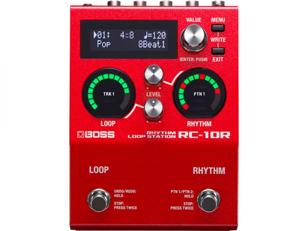Boss RC-10R: loop station stereo con drum machine