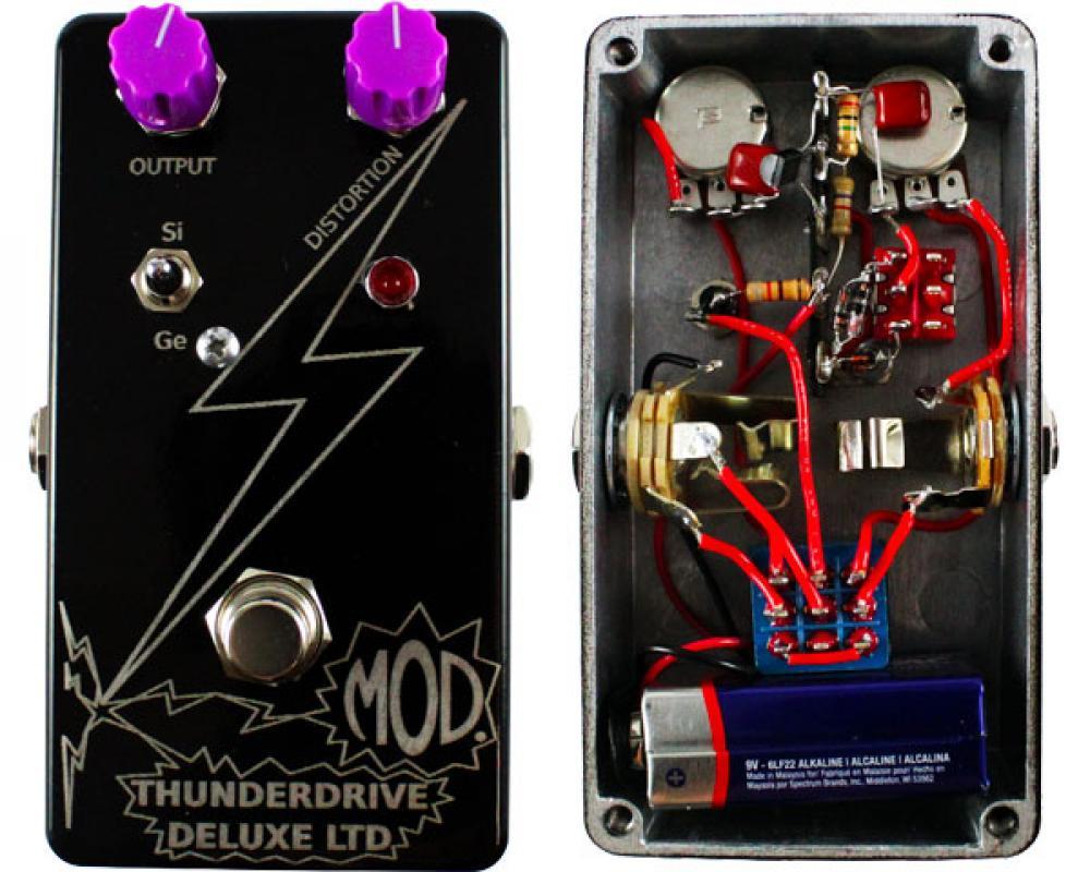 Thunderdrive Deluxe LTD: triplo overdrive fai-da-te per neofiti