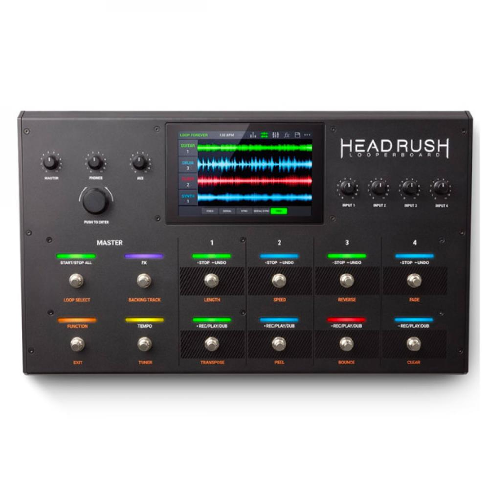 Looperboard: loop station avanzata da HeadRush