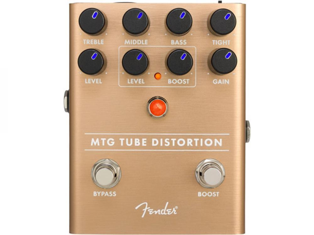 MTG: distorsore Fender con mini-valvola