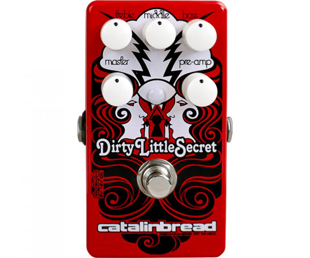 Dirty Little Secret Red Mod: il plexi-Catalinbread sotto steroidi