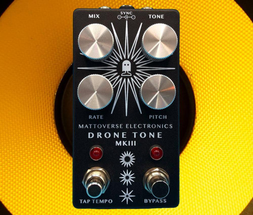 Drone Tone MKIII: generatore di tappeti elettronici in formato stompbox