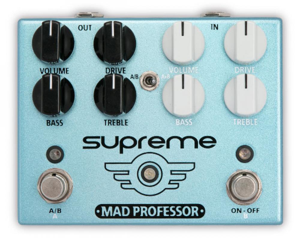 Supreme: doppio overdrive indipendente