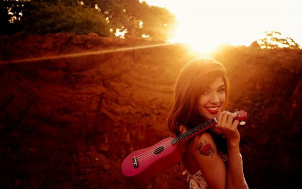 Relax con l'ukulele