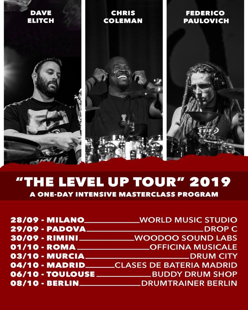 The Level Up: le masterclass di Federico Paulovich con Dave Elitch e Chris Coleman