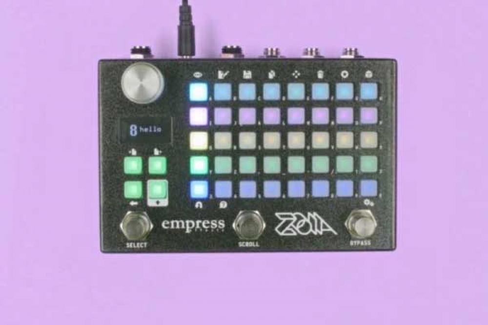 Empress Zoia: il pedale che progetta effetti al Namm