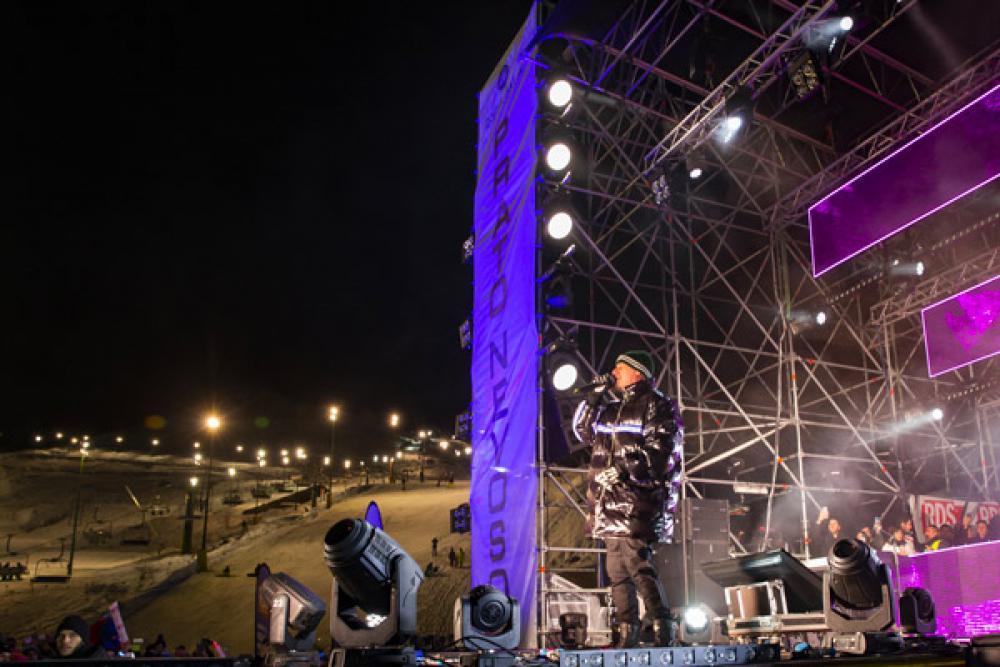 VIO L212 per J-AX live a Prato Nevoso